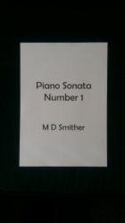 Piano Sonata Number 1
